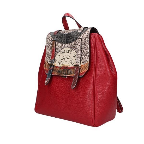 Gattinoni Backpacks Red