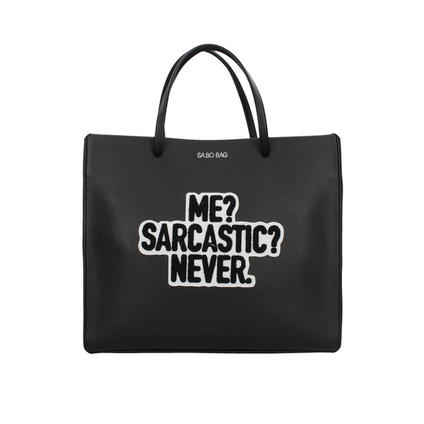 Le Pandorine Shopping bags Black