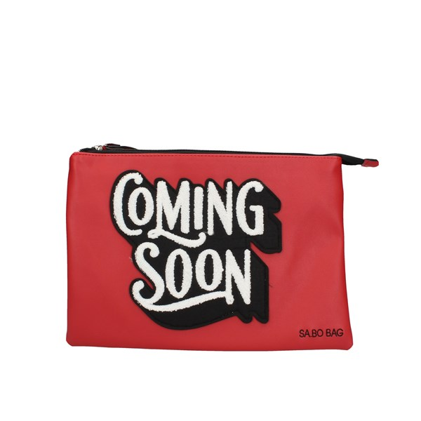 Le Pandorine Clutch Red