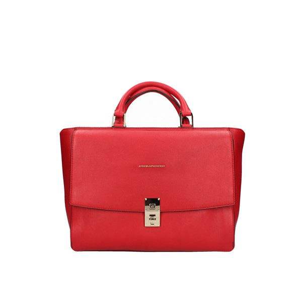 Piquadro Shopping bags Red
