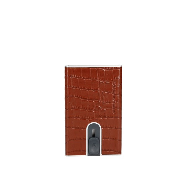 Piquadro paper holder Brown