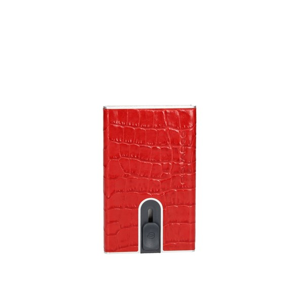 Piquadro paper holder Red
