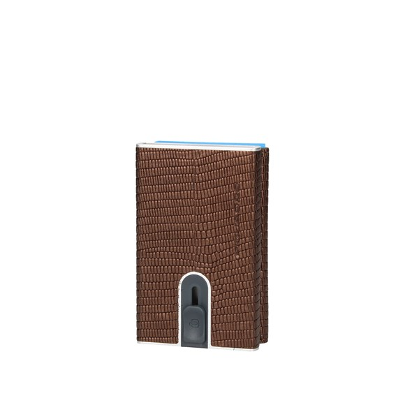 Piquadro Card Holder Brown