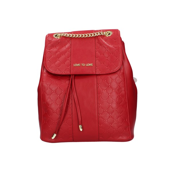 Love To Love Backpacks Red