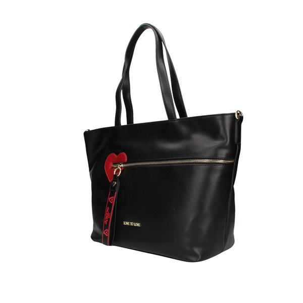 Love To Love Shopping bags Black