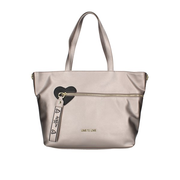Love To Love Shopping bags Grey