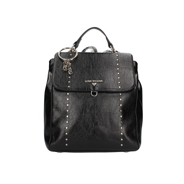 Love To Love Backpacks Backpacks 1106 Black