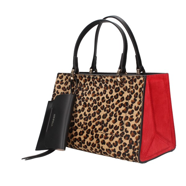 Loristella Hand Bags Leopard / red