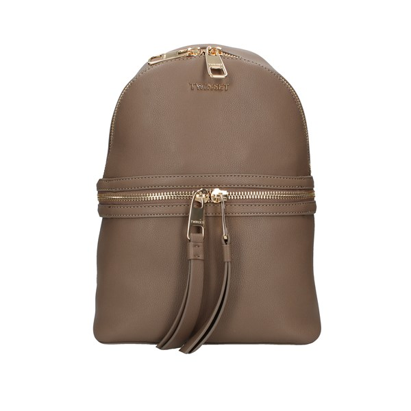 Twinset Backpacks Taupe