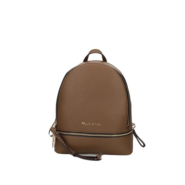Manila Grace Backpacks Taupe