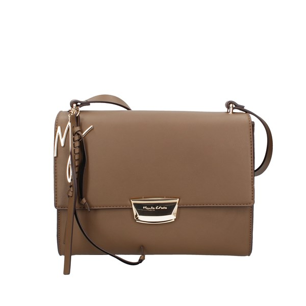 Manila Grace Shoulder Bags Taupe