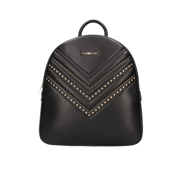 Trussardi Jeans Backpacks Black
