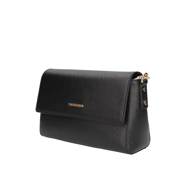 Trussardi Jeans Shoulder Bags Black