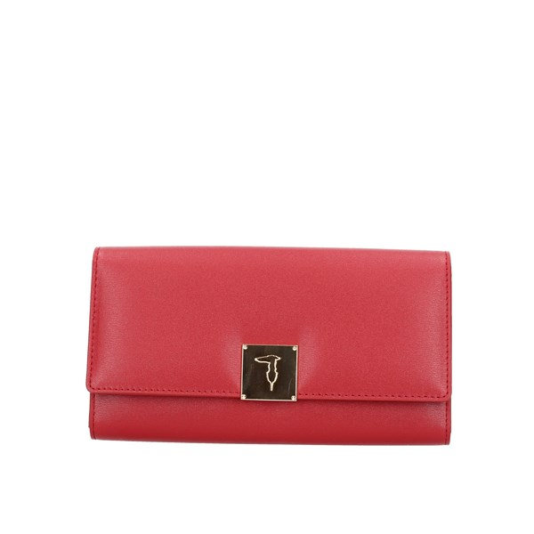 Trussardi Jeans Wallet Red