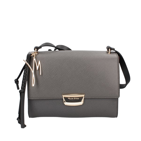 Manila Grace Shoulder Bags Grey