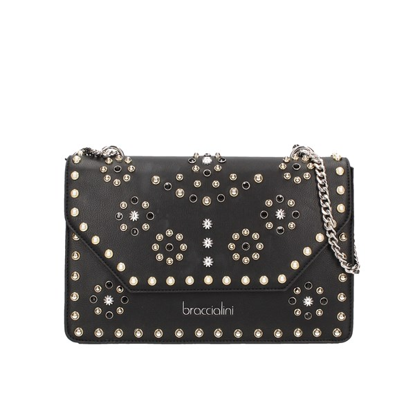 Braccialini shoulder bags Black