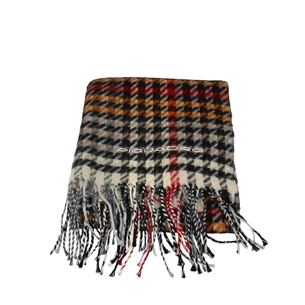 Piquadro Scarf Yellow Red