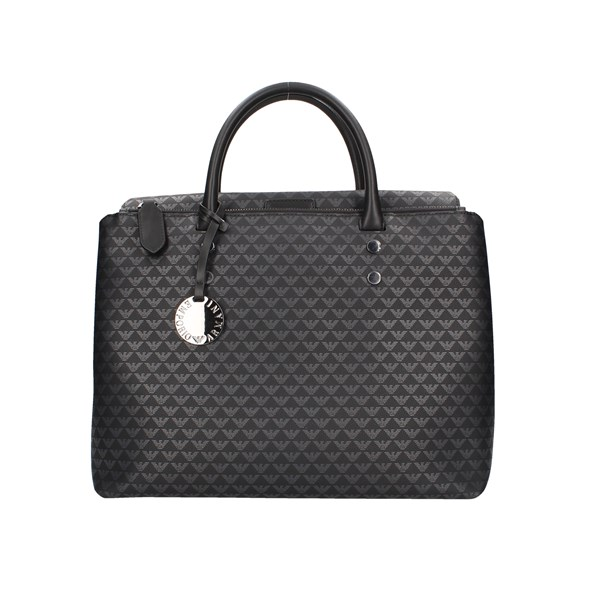 Emporio Armani shoulder bags Black
