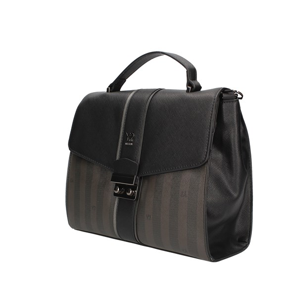 Ynot? Hand Bags Black / gray
