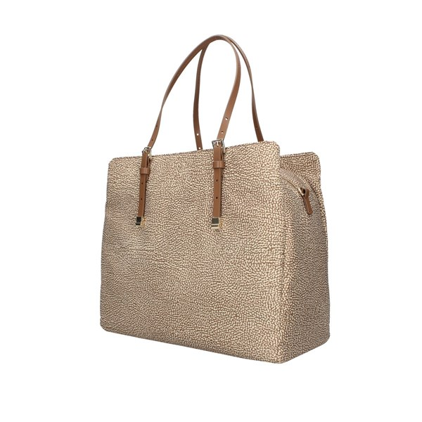 Borbonese Shopping bags Beige / brown