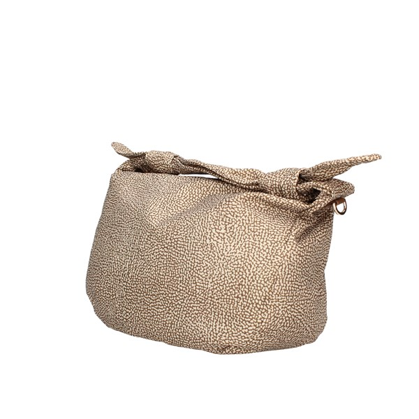 Borbonese shoulder bags Beige / brown