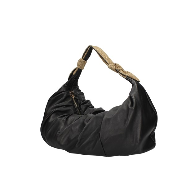 Borbonese shoulder bags Black / Natural Op