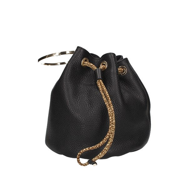 Borbonese Bucket Bags Black