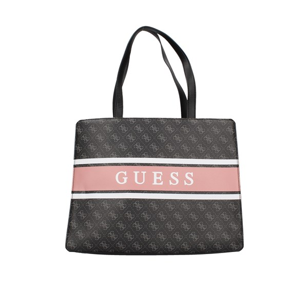 Guess Shopping bags Black / powder