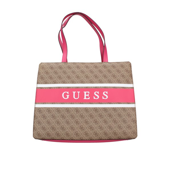Guess Shopping bags White / pink