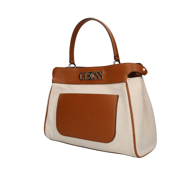 Guess shoulder bags Cognac