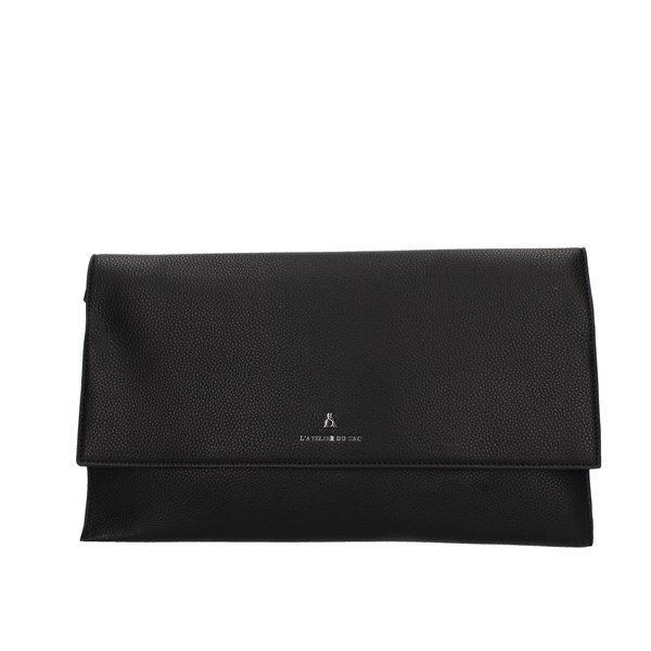 Atelier Du Sac Evening Clutch Bag Black