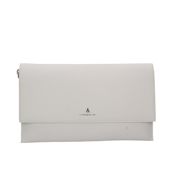 Atelier Du Sac Evening Clutch Bag White
