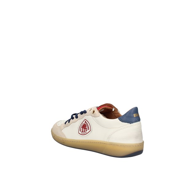Blauer  low White