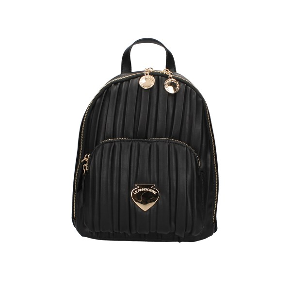 Le Pandorine Backpacks Black