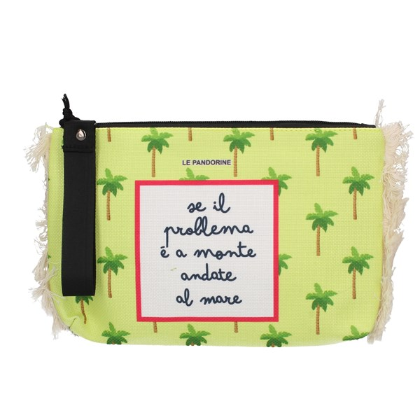 Le Pandorine Clutch Yellow