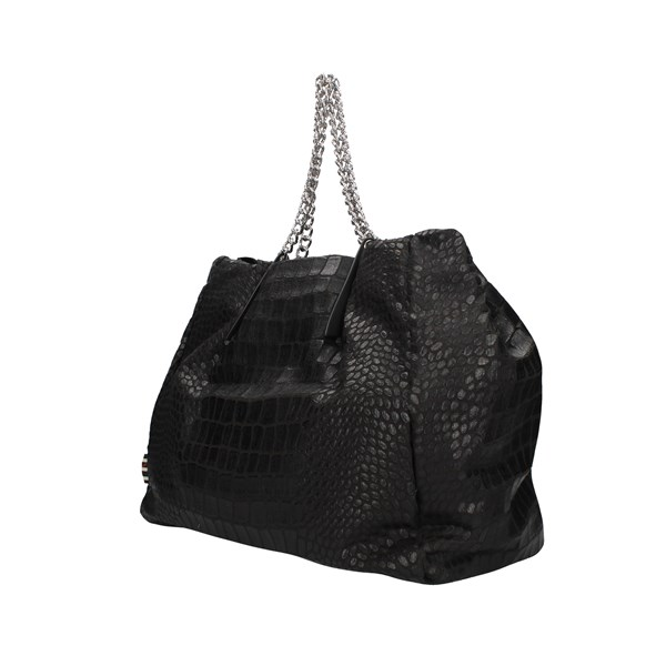 Manila Grace Shoulder bag Black