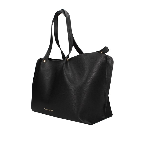 Manila Grace Shopping bags Black