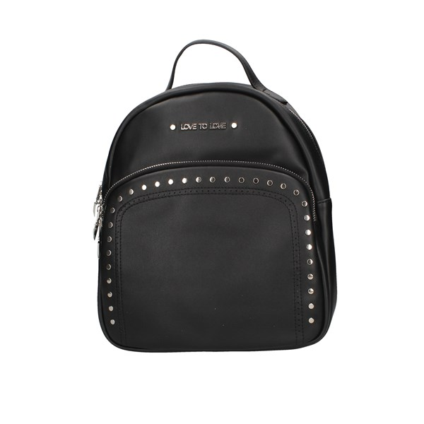 Love To Love Backpacks Black