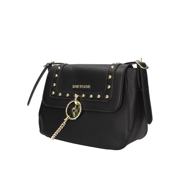 Love To Love Shoulder Bags Black