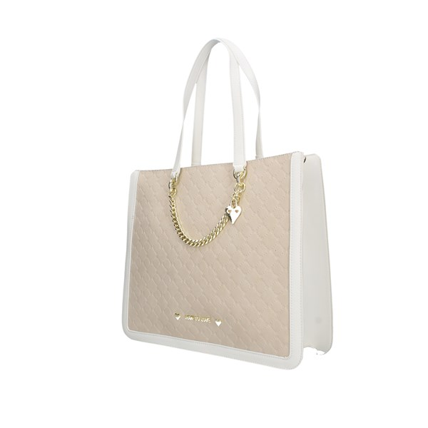 Love To Love Shopping bags White