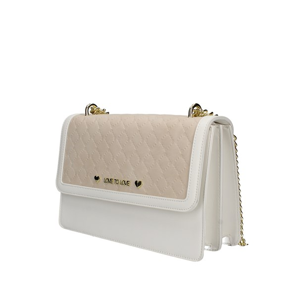 Love To Love shoulder bags White