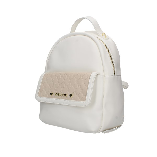 Love To Love Backpacks White