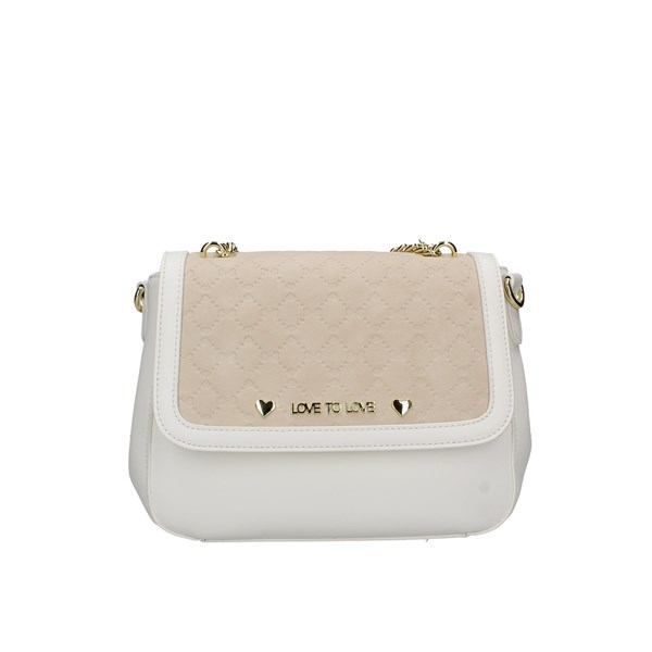 Love To Love Hand Bags White