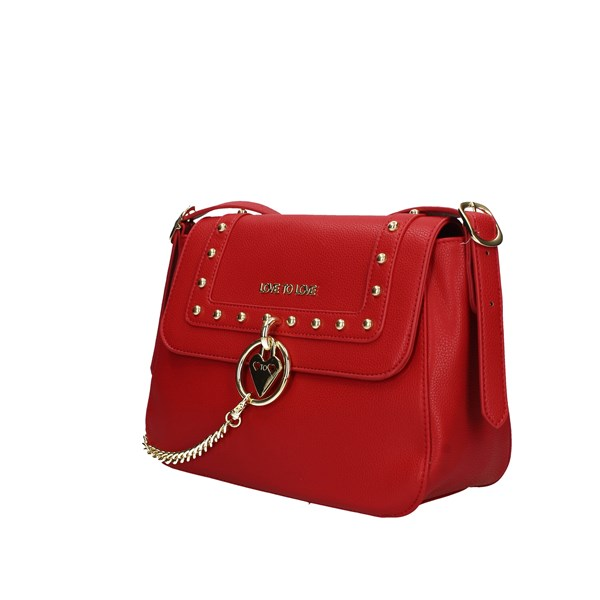 Love To Love Shoulder Bags Red