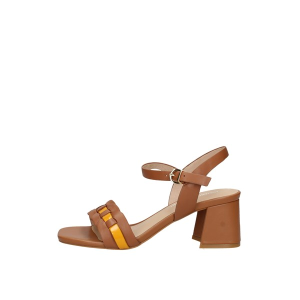 Oggi By Luciano Barachini With heel Leather / ocher