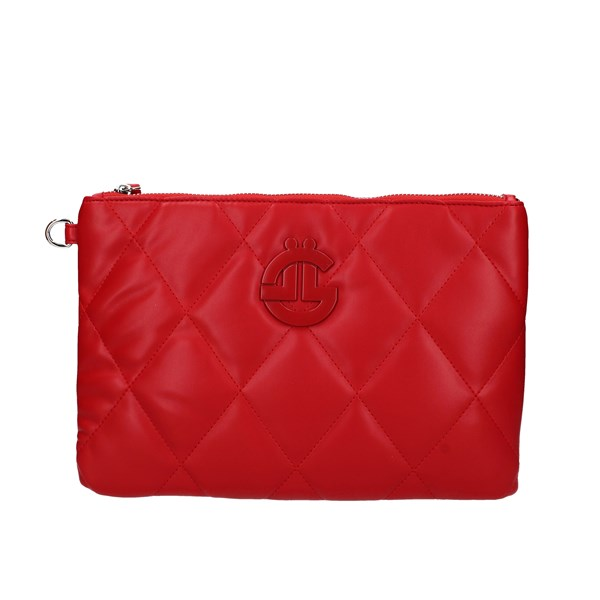 Gaelle Clutch Red