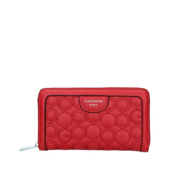 Gattinoni Roma Wallet Red