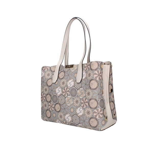 Gattinoni Roma Shopping bags White / powder