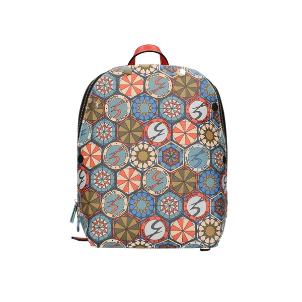 Gattinoni Roma Backpacks Coral Multi