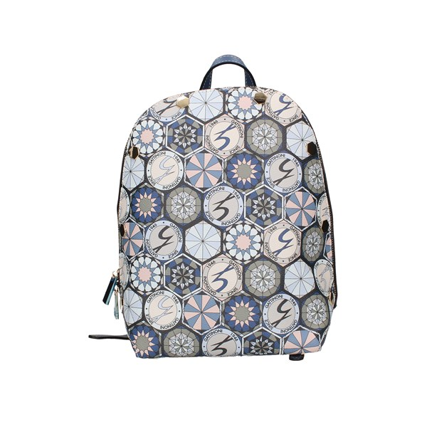 Gattinoni Roma Backpacks Multi Blue